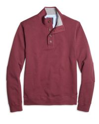 Brooks Brothers | Purple Button-front Mockneck for Men | Lyst