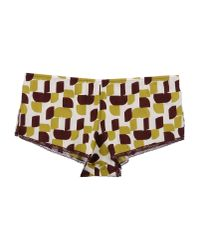 Laura Urbinati - Yellow Hotpants - Lyst