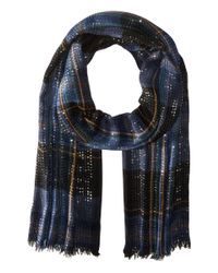 Lauren by Ralph Lauren | Black Katelin W/ Sequins Scarf | Lyst