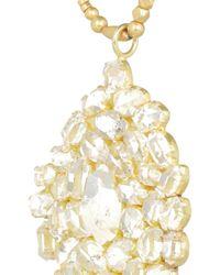 Pippa Small - Metallic 18karat Gold Herkimer Diamond Necklace - Lyst