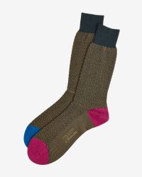 Ted Baker | Brown Sock for Men | Lyst