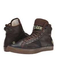 G-Star RAW | Brown Campus Scott Leather for Men | Lyst