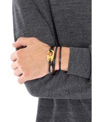 Miansai | Black Leather Wrap Bracelet for Men | Lyst