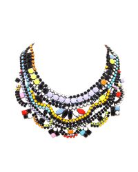 Tom Binns | Multicolor De Stijl Bib Necklace | Lyst