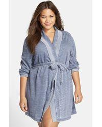 Honeydew Intimates | Blue ' Undrest' Robe | Lyst