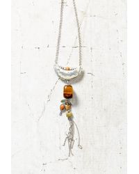 Urban Outfitters - Metallic Changing Tides Pendant Necklace - Lyst