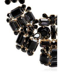 DSquared² - Black Swarovski Crystals Necklace - Lyst