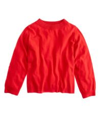 J.Crew   Red Dolman Sweater with Rib Trim   Lyst