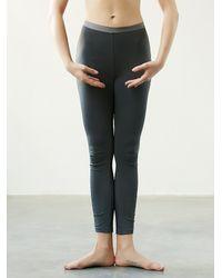 Free People - Gray Basic Audition Legging - Lyst