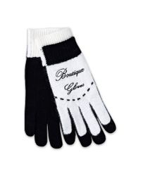 Boutique Moschino - Black Gloves - Lyst