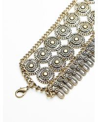 Free People | Metallic Jodi Bracelet | Lyst