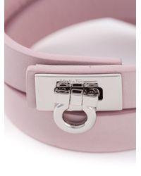 Ferragamo | Pink Gancio Bracelet | Lyst