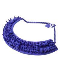 Heaven Tanudiredja - Purple Drake Necklace - Lyst