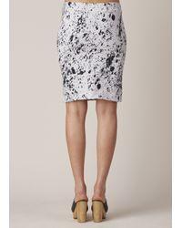 Anntian   Black Stone Mini Skirt   Lyst