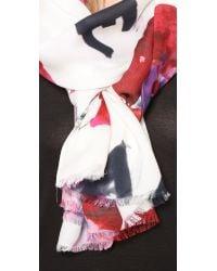 kate spade new york Multicolor Love Flower Scarf - Multi