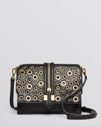 Rebecca Minkoff | Black Crossbody - Waverly Eyelet Studs | Lyst