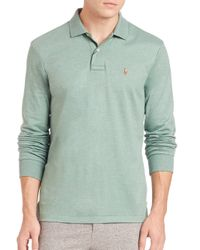 Polo Ralph Lauren | Green Cotton Polo for Men | Lyst