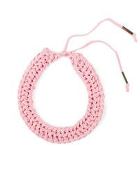 Wool And The Gang | Pink Knitting Me Softly Necklace | Lyst