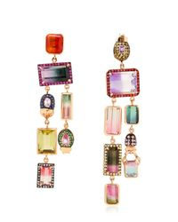 Daniela Villegas | Multicolor Oompa Loompa Earrings | Lyst