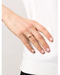 Rosa Maria | Metallic 'ye' Diamond Ring | Lyst