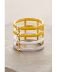 Elizabeth and James | Yellow Berlin Enamel Ring | Lyst