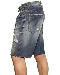 DSquared² | Blue Big Deans Bro Mississippi Denim Shorts for Men | Lyst