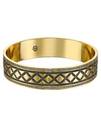 House of Harlow 1960 | Metallic Shakti Engraved Bangle | Lyst