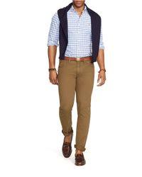 Polo Ralph Lauren | Blue Checked Oxford Sportshirt for Men | Lyst
