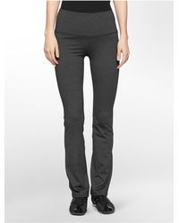 Calvin Klein | Gray White Label Performance Compression Waist Pants | Lyst