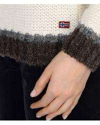 Napapijri | White Sweater | Lyst