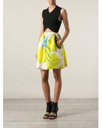 Christopher Kane - Green Printed Skirt - Lyst