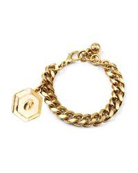 Lulu Frost | Metallic Victorian Plaza Charm Number Bracelet #6 | Lyst