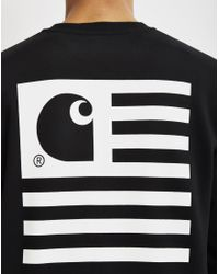 Carhartt WIP - State Flag Sweatshirt Black for Men - Lyst