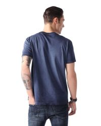 DIESEL | Blue T-femer for Men | Lyst