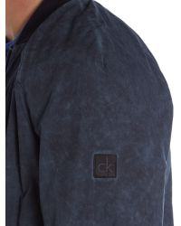 Calvin Klein | Blue Onomo 2 Bomber Jacket for Men | Lyst
