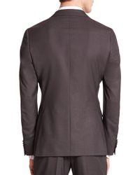 Z Zegna - Gray Wool Sportcoat for Men - Lyst
