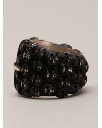 Tobias Wistisen | Black Multiple Skull Ring for Men | Lyst