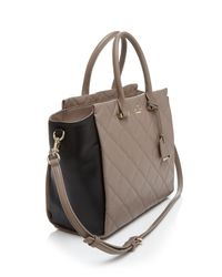 kate spade new york - Natural Tote - Emerson Place Hayden - Lyst