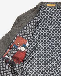 Ted Baker | Gray Veerity Diamond Jacquard Suit Jacket for Men | Lyst