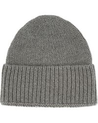 Outerknown | Gray Overcast Knitted Beanie for Men | Lyst