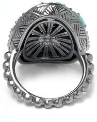 Stephen Dweck - Metallic Silver Topaz Twin Stone Ring - Lyst