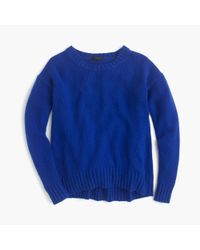 J.Crew | Blue Tunic Sweater | Lyst