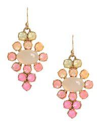 Lulu Frost - Pink Earrings - Lyst