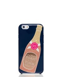 kate spade new york | Multicolor Champagne Bottle Iphone 6 Case | Lyst