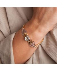 Anna Byers | Metallic Green Quartz Bracelet | Lyst