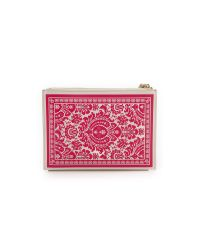 kate spade new york - White Place Your Bets Medium Bella Wristlet Pouch - Ace Of Hearts - Lyst