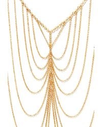 Forever 21 | Orange Draped Chain Necklace | Lyst
