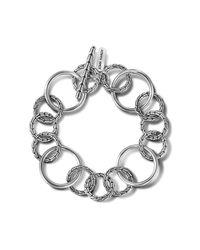 John Hardy - Metallic Large Link Bracelet - Lyst