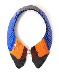 Marni - Multicolor Assorted Sequin Collar Necklace - Lyst