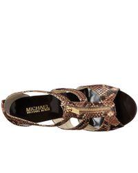 MICHAEL Michael Kors - Multicolor Berkley T-strap - Lyst